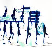 Riverdance I. Art Prints & Posters by Géza Székely
