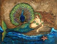 Mermaid and Peacock