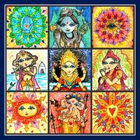 Shiva Diva Collage