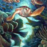 """Loggerhead Sea Journey II"" by nancytilles"