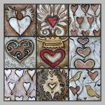 """""""Love Hearts Collage"""" by solamar7"""