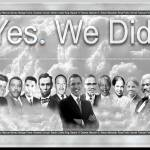 """Barack-Obama_Yes-We-Did_001"" by photoshopflair"
