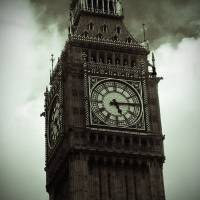 Big Ben in Black and White Art Prints & Posters by Shannon Phillips