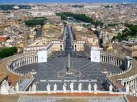 View from Top of St. Peter's Basilica