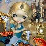 """Alice in a Dali Dream"" by strangeling"