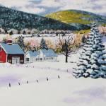 """Snowy Farm"" by tgministry"