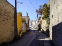 Uphill to the village