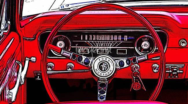 Pop Art Quot Ford Mustang Quot Artwork For Sale On Fine Art Prints
