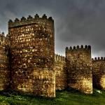 """Avila - Town Walls"" by whatawonderfulworld"