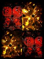 Red and White Wine Collage