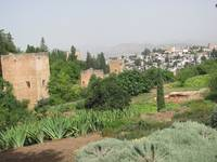 alhambra and sacromonte