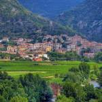 """The Village of Roquebrun, Herault, France"" by ImageArt-Photography"