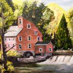 """The Old Mill Pond"" by arlen"