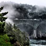 """Fog Bridge 2011 04"" by gopnw"