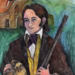 """Davy Crockett"" by woodmaster"