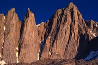 Keeler Needle and Mt. Whitney sunrise