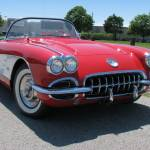 """58 Vette Front"" by NorthPointImages"