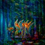 """Forest Flower Fairies"" by artbyclaire"
