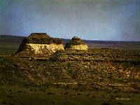Pawnee Buttes Twilight