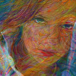 """abstract girl"" by pietrastone"