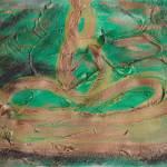 """Green Meditator"" by QTMcGrue"