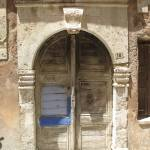 """Old door on a Ottoman house - Chania, Crete , Old"" by arttraveler"
