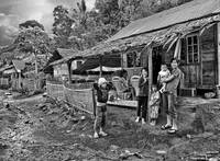 Minahasa Traditional Home 3 BW