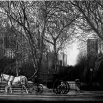 """Hansom Cab"" by Pencilworks"