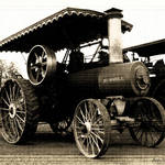 """Russell Steam Tractor II"" by Tapestry"