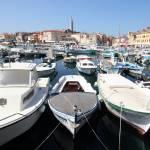 """Rovinj harbour"" by chrisheath"