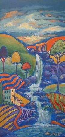 Waterfall Hill Landscape