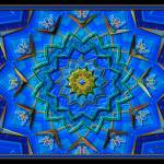 """20110824-Blues-Big-Green-Small-v18"" by quasihedron"