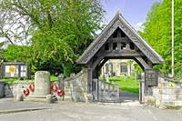 The Lych Gate, Repton Churchyard (28106-RDA)