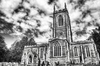 Orlingbury Church (B&W)