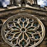 """Round Church Window HDR"" by InspiraImage"