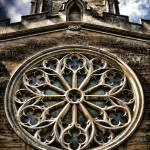 """Round Church Window HDR"" by InspiraImage"