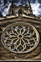 Round Church Window HDR