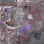 """grey brown purple wall"" by monkagain"