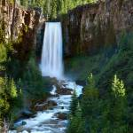 """The Tumalo Waterfall"" by pbk"