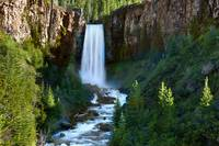 The Tumalo Waterfall