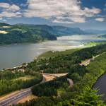 """COLUMBIA RIVER GORGE PANORAMA"" by pbk"
