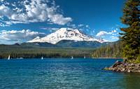 CASCADE MOUNTAIN LAKE