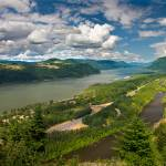 """COLUMBIA RIVER GORGE PANORAMA II"" by pbk"