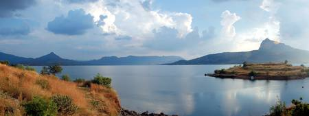 Pavna Lake, India