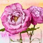 """Roses Aquarelle"" by LeslieNicole"