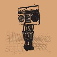 RADIO RETRO ROBOT