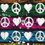 """PEACE HEARTS"" by icreate"