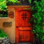"""Garden Doorway"" by PerryWebster"