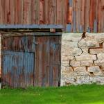 """Weathered Barn Door"" by PerryWebster"