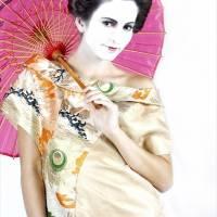 Geisha 11 Art Prints & Posters by Jennifer Lam
